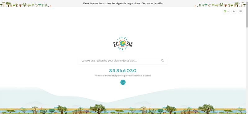Ecosia avis : que vaut le moteur de recherche écologique